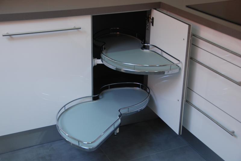 Cocina blanca en l cocinas murcia - Muebles de cocina murcia ...