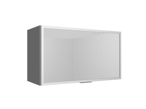 M dulo mueble de cocina alto abatible vitrina cocinas for Mueble alto de cocina esquinero