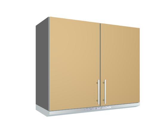 Módulo Mueble De Cocina Alto Sobre Campana 2 Puertas