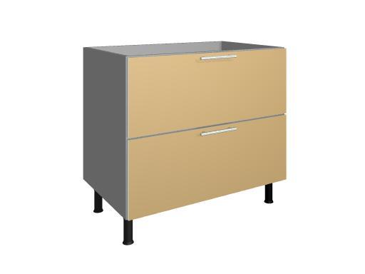 M dulo mueble de cocina bajo placa 2 caceroleros for Muebles de cocina murcia