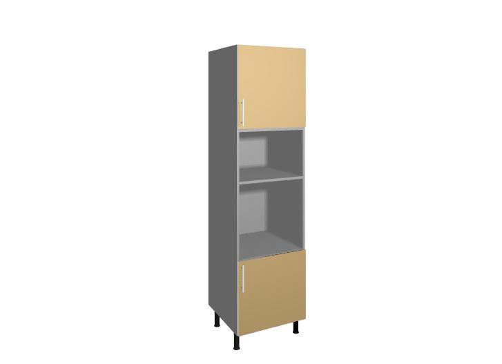 M dulo mueble de cocina columna horno y microondas for Muebles de cocina murcia