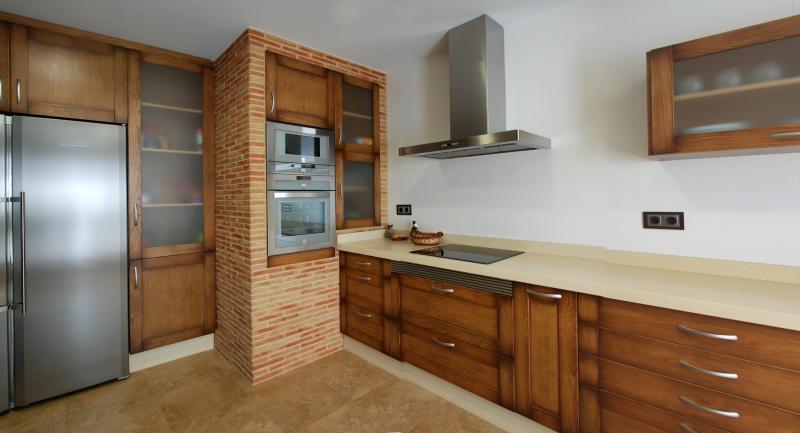 casa y campo campanas de obra. fabricar una cocina de obra ...