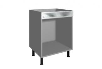 M dulo mueble de cocina bajo horno con rejilla cocinas for Modulos bajos de cocina