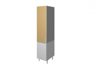 M dulo mueble de cocina columna despensero cocinas murcia for Mueble columna cocina